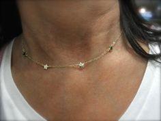 Collier d'étoiles étoile minuscule teeny mini collier par 19bis