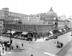 1903   Orpheum Theater at 15th & Welton .Description from theoldmotor.com.