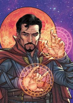 Doctor Strange, now with colors by E sim, print pra CCXP! Marvel Comic Universe, Comics Universe, Marvel Dc Comics, Marvel Heroes, Marvel Cinematic Universe, Marvel Doctor Strange, Doc Strange, Marvel Comic Character, Marvel Characters