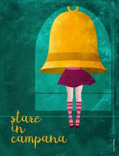 Stare in campana · Piperitadesign #illustrazione Woman Power, Powerful Women, Ipad Pro, Digital Illustration, My Arts, Posters, Graphic Design, Texture, Art Prints