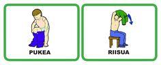 päivälokerikkokortit päiväkotiin Family Guy, Teaching, Education, Guys, Fictional Characters, Peda, Onderwijs, Fantasy Characters, Sons