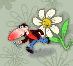 Illustration Rotznase von Angel Miguelez