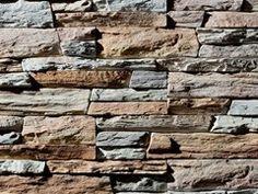 Revestimiento de pared imitación piedra