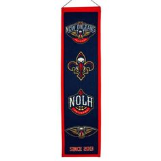 New-Orleans-Pelicans-Official-NBA-8-x-32-Heritage-Banner-Flag-Winning-Streak
