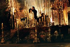 Still of Emmy Rossum and Gerard Butler in The Phantom of the Opera