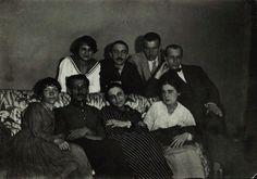 005: М.М. Черемных, Маяковский, И.А. Малютин, Соколовский в РОСТА. Москва. 1919