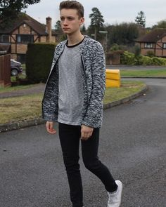 Get this look: http://lb.nu/look/8565989  More looks by Chris Bland: http://lb.nu/user/6058937-Chris-B  Items in this look:  Boohoo Knitted Jumper