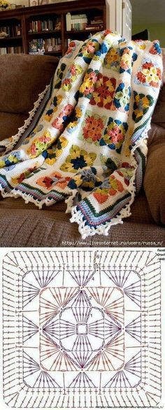 Best Free Granny Squares Crochet diagram Suggestions Get influenced with regard . Best Free Granny Squares Crochet diagram Suggestions Get influenced with regard to Granny Sq . Crochet Motifs, Crochet Quilt, Crochet Blocks, Granny Square Crochet Pattern, Crochet Diagram, Crochet Squares, Crochet Granny, Crochet Blanket Patterns, Crochet Yarn
