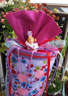 Schultüten - Prinzessin  Julia - Schultüte /Zuckertüte  - ein Designerstück von XBergDesign2 bei DaWanda