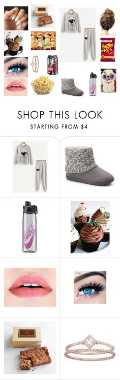 """""""Lazy days Jim jams"""" by maddison-baron on Polyvore featuring Marvel, SONOMA Goods for Life, NIKE, SAS Cupcakes, MINX and LC Lauren Conrad"""