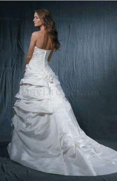 Elegant Hall Backless Sleeveless Flower Princess Bridal Gown - US$246.39 - ninedresses.com