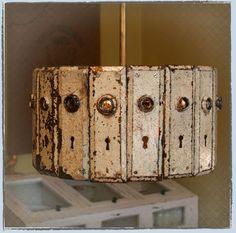 Door knob lamp