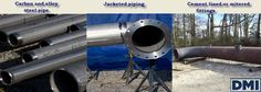 DMI fabricates all carbon and alloy steel pipe systems including jacketed piping, cement lined and mitered fittings. #jacketedpiping‬ #steelpipe #pipefabrication‬ #pipefabricators http://goo.gl/OIBoSD