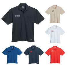 "Promotional Men's Short Sleeve Polo Shirts with Pocket: Available Colors: Black, Matchstick, Nautical, Navy, Red, White. Product Size: S, M, L, XL, 2XL, 3XL. Imprint Area: Centered on Left chest Above pocket 3.00"" H x 4.00"" W. Product Weight: 13.89. Packaging: 30. Material: Micro Polyester. #custompoloshirt #promotionalproduct #shortsleeve"