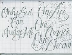 Tattoo Lettering   Tattoo Lettering 36 by ~12KathyLees12 on ...