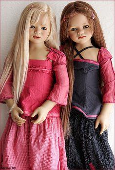 Sini and Ajescha (Summer Kinder by Annette Himstedt 2008)