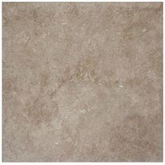 $0.98/SF IZ Unit, Lowe's Guest Bath  Style Selections 12-in x 12-in Beige Glazed Porcelain Floor Tile (Actuals 12.12-in x 12-in)