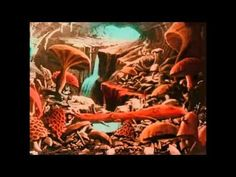 """Trippy film clips from 1902 by Georges Méliès entitled """"A Trip to the Moon"""""""