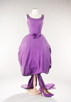 vintage Dior.....Oh my, how lovely this is.  in 2014 we call it Radiant Orchid, honey!
