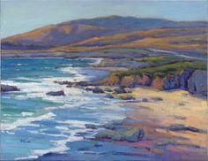 Konnie Kim Fine Art: Coastal Cruising 8, San Simeon