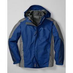 Eddie Bauer Boys' 3-in-1 Snowfoil Jacket
