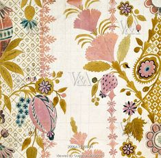 Textile design, by James Leman (1685-1745). Spitalfields, London, England, 1719.