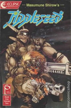 Cyberpunk, Anime, Appleseed -- one of the best manga series I've ever read; it's pretty hard to top any of Masamune Shirow's work. Comics Anime, Comic Manga, Bd Comics, Comic Art, Art Manga, Manga Artist, Manga Anime, Anime Art, Art Vintage