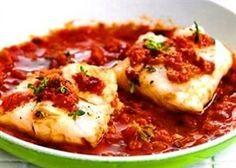 Kabeljauw met zuiderse tomatensaus