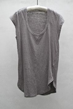 Grey tees forever. ISABEL MARANT. Perhaps the most perfect tshirt ever. I don't own this one, but I do own 10 million high street versions.