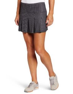 Bolle Women s Jazz Pull-On Print Tennis Skirt with Short (Black) Bolle, 5f14b67fc7