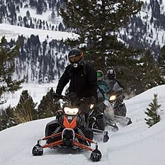 Snowmobiling on The Ranch at Rock Creek in Philipsburg, Montana. Men's Journal's list of epic all-inclusive adventures. Add downhill skiing, cross-country skiing, horseback riding, skating, snowshoeing, shooting, snow cat and even biathlon to the list of winter adventures available at the Forbes Travel Guide Five Star resort.