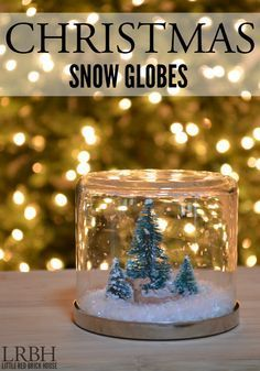 20 Ideas to Repurpose Candle Jars A roundup of 20 great ways to turn old candle jars into beautiful and functional decor and storage solutions for your home Diy Snow Globe, Christmas Snow Globes, Merry Christmas, Christmas Jars, Christmas Lanterns, Christmas Ideas, Christmas Gifts, Upcycled Crafts, Weinachts Diy