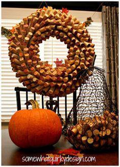 DIY: Wine Cork Wreath