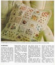 Resultado de imagem para técnicas de patchwork colcha tecido com crochê