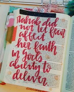 Rahab...tarnished...broken...but God saw her as more....aren't you glad God doesn't leave us broken but sees us as more and wants to use us in His kingdom plan? #biblejournaling #journalingbible #journalingfaith #displayinggrace #illustratedfaith #scriptureart #bibleart #womenoftheword #handlettering #brushlettering by displayinggrace