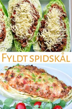 Fyldt spidskål med oksekød - Dagens tallerken Baby Food Recipes, New Recipes, Vegetarian Recipes, Dinner Recipes, Healthy Recipes, Food Is Fuel, Food N, Food And Drink, Dinner Is Served