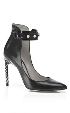 Jason Wu Margeaux Ankle Studded Pump With Crystal Heel at Moda Operandi