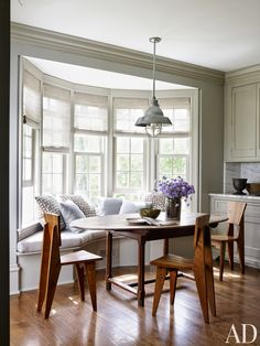 Dining Room by Mark Cunningham in Northwestern Connecticut / modern chairs, chair design,designer chairs #modernchairs, #chairdesign #diningchairs Read more: http://modernchairs.eu/times-modern-chairs-transformed-entire-room/