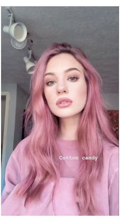 Dusty Pink Hair, Baby Pink Hair, Bright Pink Hair, Pastel Pink Hair, Girl With Pink Hair, Dusty Rose Hair Color, Brown And Pink Hair, Pink Girl, Blush Pink