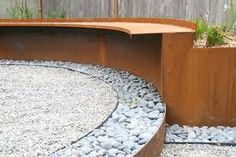 curved corten steel - Google Search