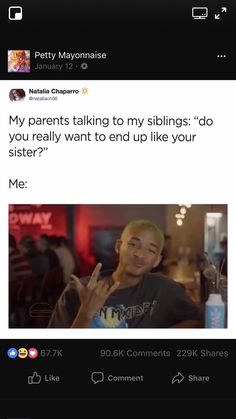 Find images and videos about meme, post and sister on We Heart It - the app to get lost in what you love. Funny Texts Jokes, Stupid Funny Memes, Funny Facts, Funny Tweets, Haha Funny, Real Quotes, Fact Quotes, Mood Quotes, Tweet Quotes