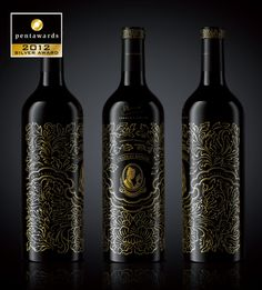 Client: Chateau Rongzi  Industry: Wine  Creative Description:   Elegant and luxurious with flowers in full bloom beautiful symbol of life, to express in Chinese style decorative patterns. Red wine packaging from achievement most Chinese style.