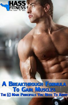 A Breakthrough Formula To Gain Muscles By: @hassfitness #fitness #training #muscle #gain
