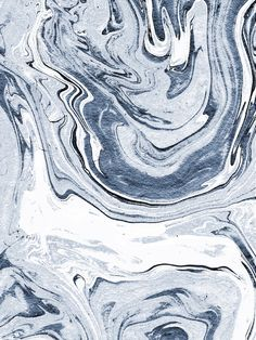 Kiyomi - spilled ink japanese monoprint marble paper marbling art print cell phone case with marble Canvas Print