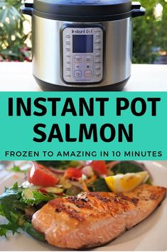 Frozen Salmon in 10 Minutes. Quick, Easy, and Healthy meal.