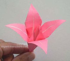 Visit the webpage to read more about Origami Paper Folding Origami Instructions Step By Step, Origami Easy Step By Step, Flower Step By Step, Origami Tutorial, Flower Oragami, Easy Oragami, Origami Flowers, Paper Flowers, Ribbon Flower