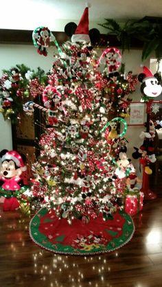 Mickey and Minnie Christmas tree 2014!