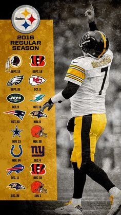 Steelers 2016 schedule