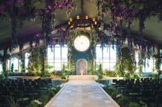 enchanted garden wedding ceremony gold coast wedding decorator