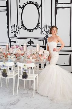 WedLuxe – Mulberry Blooms | Photography by: 5ive15ifteen Photo Company Follow @WedLuxe for more wedding inspiration!